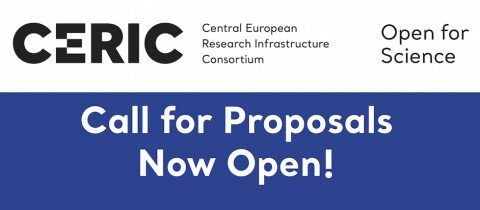 CERIC call for proposals is now open!